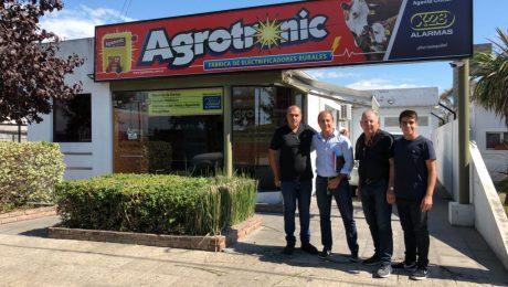 Pagano SA, fabricantes de #SanMiguel #Caranext y #Perimetro seran distribuidores oficiales Agrotronic